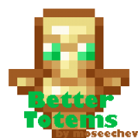 Better Totems [RESOURCE PACK FOR DATAPACK]